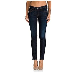 Rag and bone skinny jeans in Kensington wash